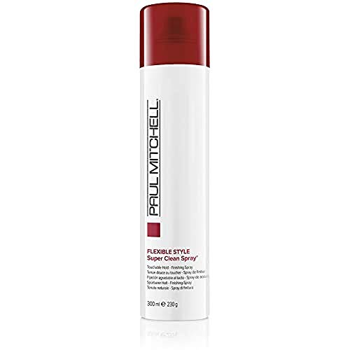 Paul Mitchell Super Clean Spray - Finishing-Spray für mehr Fülle, Profi-Haarspray in Salon-Qualität, parabenfrei - 300 ml