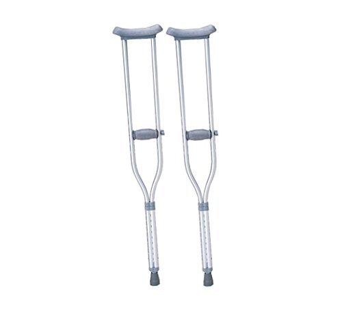 【非課税】 アズワン 松葉杖 HC2081 (2本セット) 全長1120~1320mm