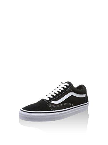 Vans Sk8-Hi, Sneakers Alti Unisex Adulto, Nero (Black/White), 49 EU