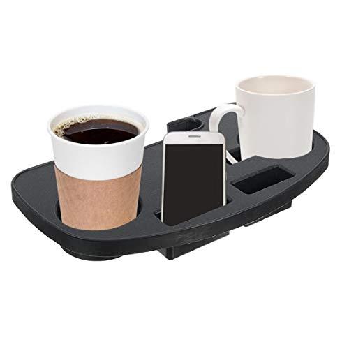 LjzlSxMF Bandeja para sillas de Gravedad Cero Clip en Tumbona Camping Silla Lateral con la Ranura del Dispositivo móvil para Bebida móvil Tablet Holder