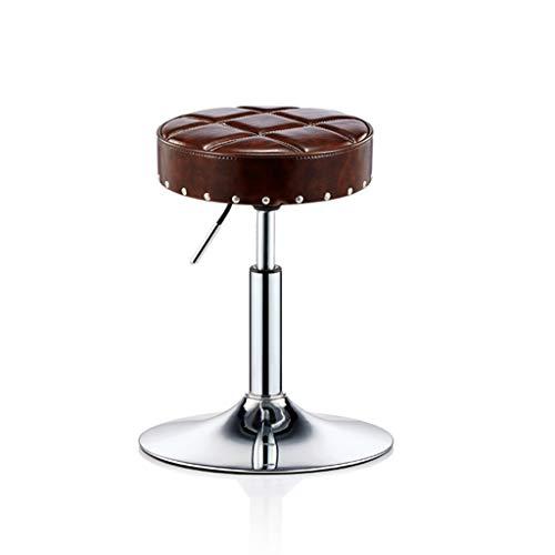 JHSLXD Dressing Table Make-up Kruk Huishoudelijke Kan Lift Schoonheid Kruk Metalen Nagel Kruk Kappers Kruk Kleine Ronde Kruk Werkbank
