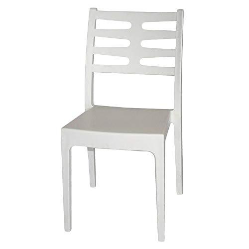 areta Chaise, modèle Venere, Blanc, 52 x 46 x 86 cm, Taille Unique,