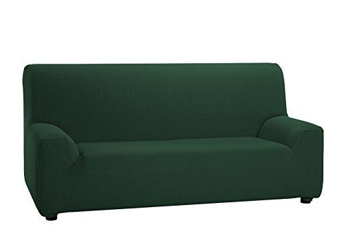 Martina Home Tunez - Funda elástica para sofá, Verde Botella, 3 Plazas (180-240 cm)