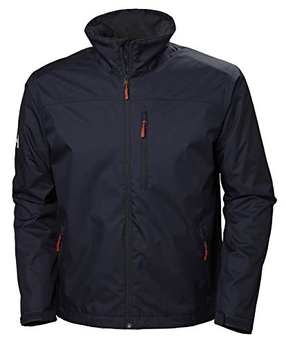 Helly-Hansen 34144 Men's Team Crew Midlayer Jacket, Navy - XL
