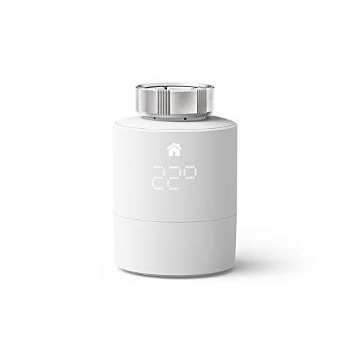 tado° Testa Termostatica Intelligente (Montaggio universale) - Prodotto Aggiuntivo per il Controllo Multi-Stanza, Gestione Intelligente del Riscaldamento, Facile Installazione Fai da Te