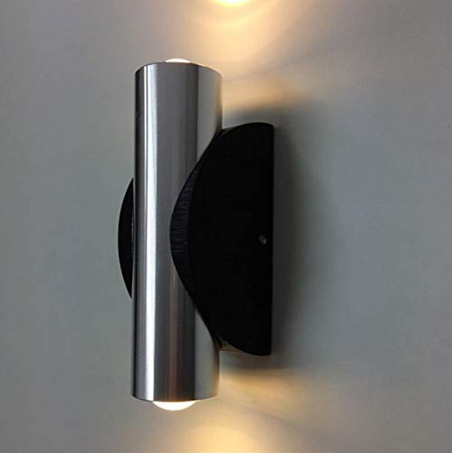 HOT High quality Indoor 2W LED Wall Lamp AC110V 220V material Aluminum Sconce bedroom Decorate Wall Light,lila