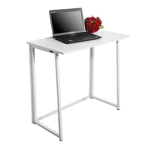 Escritorio de computadora plegable escritorio de trabajo de oficina para dormitorio escritorio escritorio escritorio escritorio escritorio escritorio escritorio escritorio estudio mesa 32x18x29''