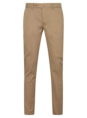 Hackett London Herren Hose Kensington Chino Slim Gr. 34 W/30 L, Stone Beige