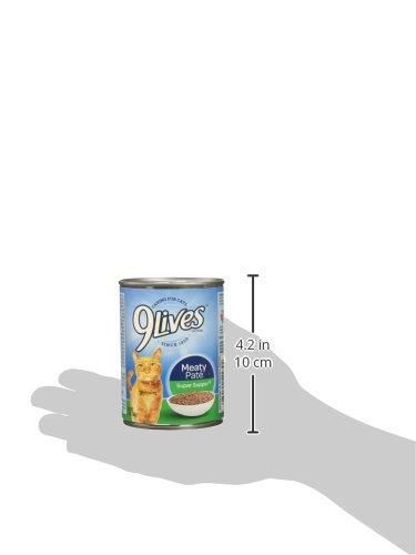 9Lives Meaty Paté Super Supper Wet Cat Food, 13 Oz Cans (Pack Of 12)