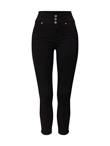 Hailys Myra Frauen Jeans schwarz M 75% Baumwolle, 23,5% Polyester, 1,5% Elasthan Basics, Streetwear