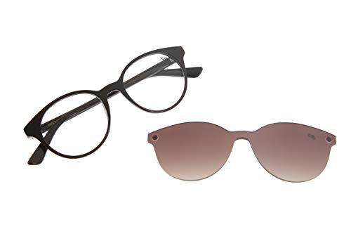 Armação Para Óculos de Grau Feminino CHILLI BEANS Multi Redondo Marrom Escuro, LVMU0114 2047, Tamanho Único