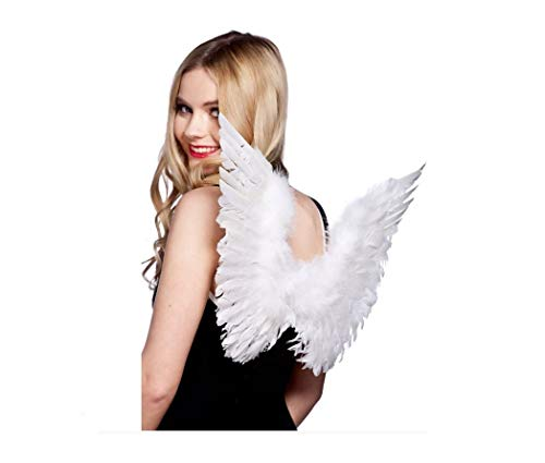 Small Feather Wings White