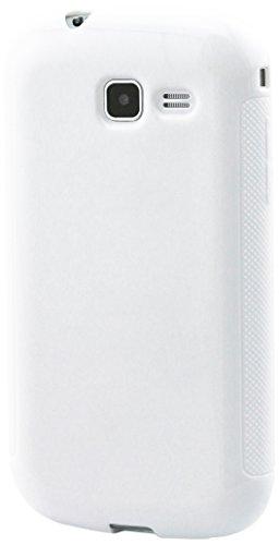Muvit MUSKI0318 - Custodia per Samsung Galaxy Trend Lite, Brillante, Bianco