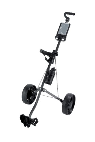 Ben Sayers Unisex – Erwachsene Two-Wheel Trolley Carts mit Gasantrieb, Black