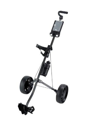 Ben Sayers Unisex– Erwachsene Two-Wheel Trolley Carts mit Gasantrieb, Black