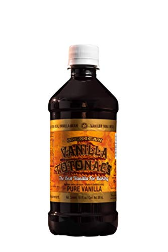Mexican Vanilla Totonac's - 16.6 Oz (500 mL) Bottle - Pure Vanilla Extract
