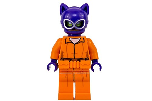 LEGO Batman Movie Minifigure - Catwoman in Arkham Asylum Prison Jumpsuit - 70912