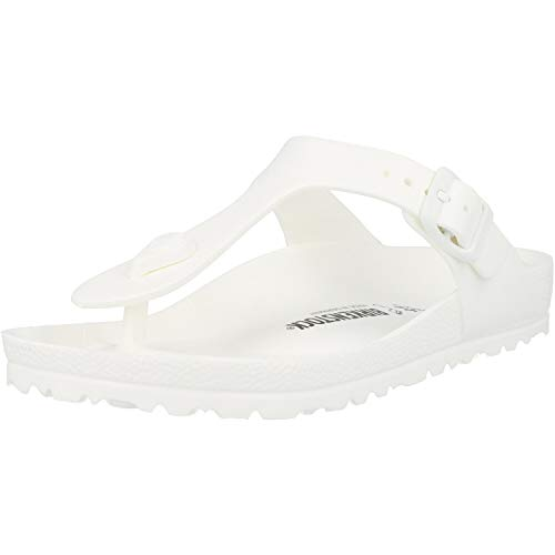 Birkenstock Women's Gizeh EVA Sandals (37 M EU/6-6.5 B (M) US Women, White)