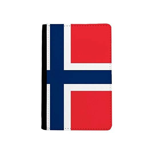beatChong Noruega Bandera Nacional Bolso Europa Pasaporte País Recorrido Portatarjetas De La Caja Cubierta De La Carpeta