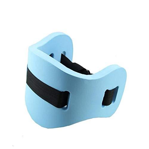 YFJLOVE Junta del Anillo del Flotador de natación Junta colchón de Espuma Ajustable Volver Natación Estudiante Adulto Niños de Herramientas con cinturón de la Cintura (Color : Blue 1pc)
