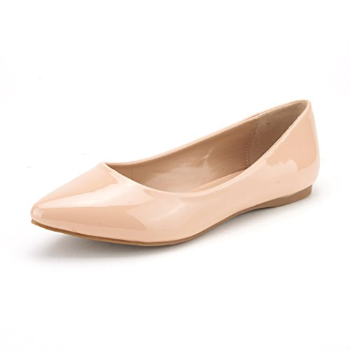 Top 10 best selling list for nude patent flat shoes
