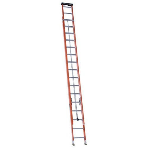 Louisville Ladder 32-Foot Fiberglass Extension Ladder with Pro Top, 300-Pound Capacity, L-3022-32PT