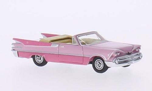 Unbekannt Dodge Custom Royal Lancer Convertible, rosa/dunkelrosa, 1959, Modellauto, Fertigmodell, BoS-Models 1:87