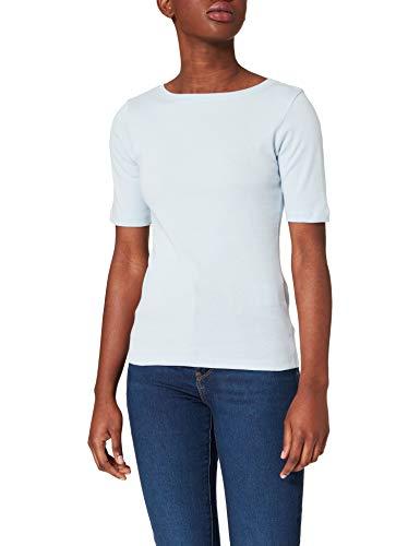 More & More Damen T-Shirt, lightblue_0305, 40