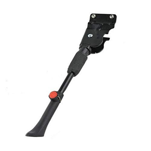 Fahrradständer Einstellbarer Universal Hinterbauständer Unterstützung Aluminiumlegierung Fahrrad Ständer Anti-Rutsch Seitenständer für Mountainbike Rennrad/Rennrad/BMX/MTB