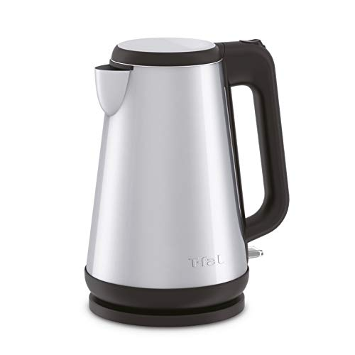 T-fal KI810D50 Element Double Layer Stainless Steel Electric Kettle, Sliver