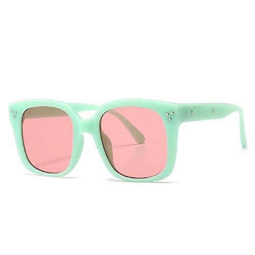 U/A 2 Pcs De Gafas De Sol De Caja Retro