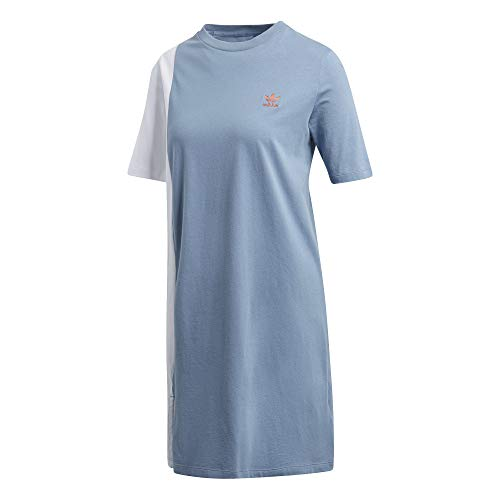 adidas AI Tee Dress Kleid für Damen, Grau (GRINAT) 34 Mehrfarbig (GRINAT)