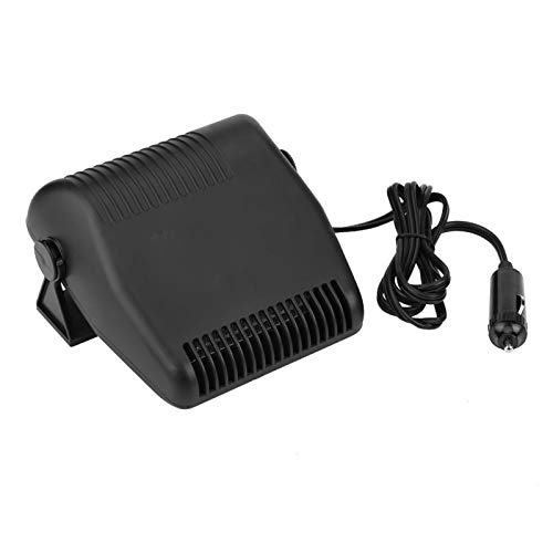 aqxreight - Car Heater, 12V Portable Car Ceramic Heating Windshield Defroster Demister 2 in 1 Cooling Fan Heater