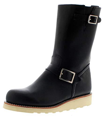 Red Wing Shoes Damen Stiefel 3470 Black Engineerstiefel Lederstiefel Schwarz inkl. Schuhdeo 40 EU