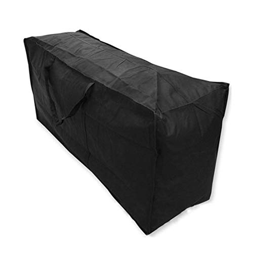Garden Furniture Covers - Kissenbezüge in Black, Größe 116x47x51cm