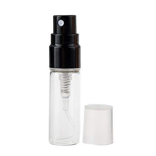 jingxiaopu Botella De Perfume Bote Spray Pulverizador PortáTil Botellitas De Cristal PequeñAs...
