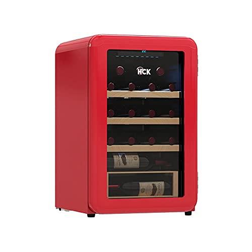 SXRKRZLB Gabinete del Vino Retro Enfriador de vinos Electronic Wine Cooler Home Kitchen Restaurante Refrigerado Vino refrigerador Sala de Estar Hotel Villa Electronic Constant Tempere Wine Cooler