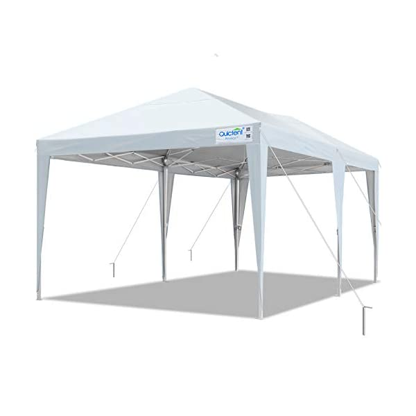 Quictent 10×20 Easy Pop up Canopy Tent Instant Canopy Shelter Waterproof with...