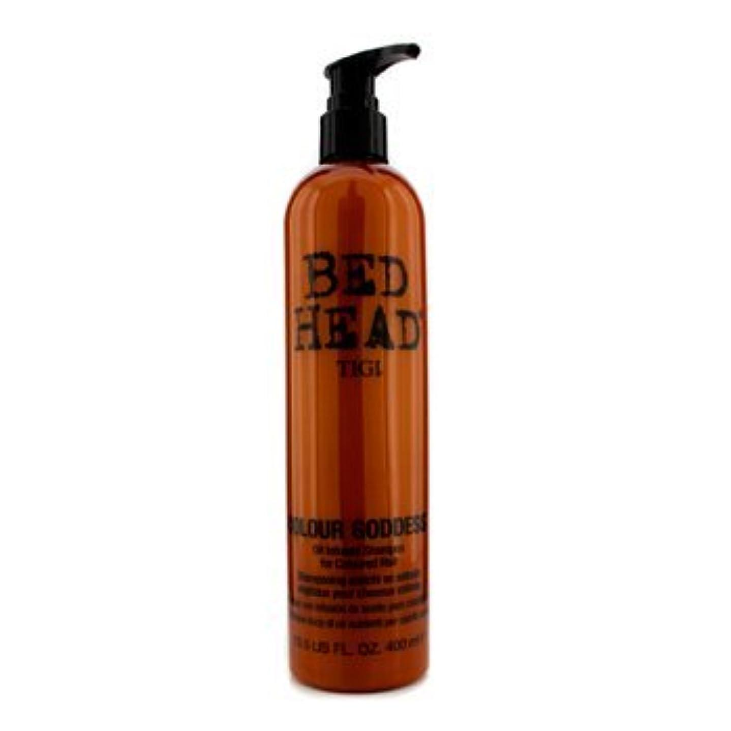 放棄する地獄見通し[Tigi] Bed Head Colour Goddess Oil Infused Shampoo (For Coloured Hair) 400ml/13.5oz