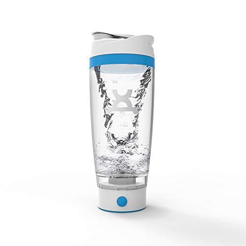 PROMiXX iX Coctelera eléctrica de proteínas (edición especial) – Botella mezcladora bellamente diseñada con tecnología X-Blade para batidos suaves/suplementos – 600 ml