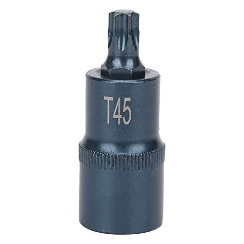 High Precision rustproof Star Socket bit in S2 Alloy Steel Bluing Plastic Absorption Hardness ± HRC58 1 / 2X55XT45