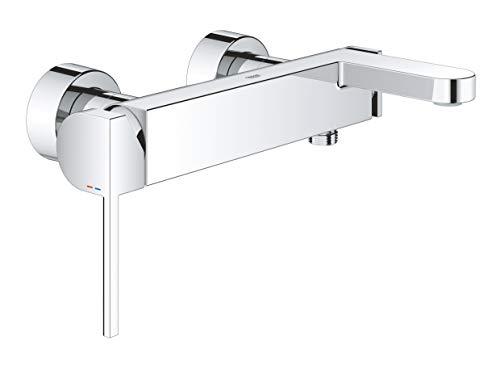 GROHE Plus | Badarmatur- Einhand-Wannenbatterie | mit Temperaturbegrenzer | chrom | 33553003