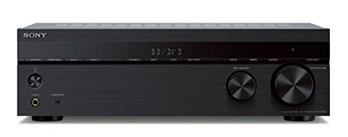 Sony STRDH590 52ch Surround Sound Home Theater Receiver: 4K HDR AV Receiver with BluetoothBlack
