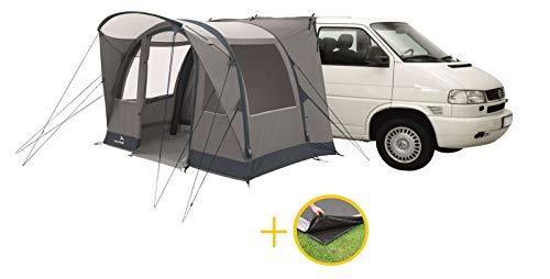 Just Kampers Easy Camp Hurricane Driveaway Air Awning Bundel Inclusief Voetafdruk Opblaasbare & Voetafdruk Grondplaat