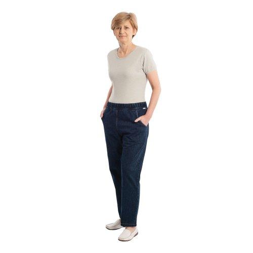 4510 Pflegeoverall Care Active Aktivoverall Jeans mit Rückenreißverschluss für Damen und Herren (M)