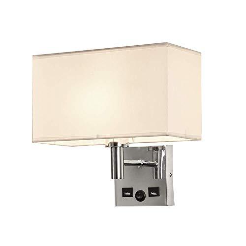 GAOYINMEI Lluminación de Pared Lámpara de Pared Decorativa Contiene pequeños Dispositivos electrónicos portátiles de Lectura Altavoces Diseño Precio asequible luz de la Pared