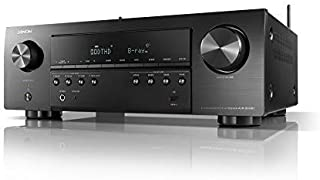 Denon AVR-S640H-R Audio Video Receiver, 5.2 Channel 4K Ultra HD Home Theater Surround Sound and Music Streaming System (Renewed)