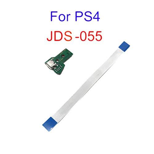 JDS-055 Griff Ladebuchse Schalter Board 12PIN Kabelmodul für PS4 grün