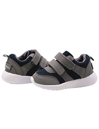 Gerber Sneakers Toddler Baby Boy, First Walking Soft Shoes for Baby
