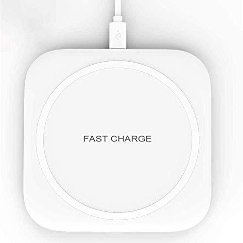 Hoidokly Caricatore Wireless Rapido 10W Caricabatterie Senza Fili Ricarica Rapida Qi Charger per Samsung Galaxy S21+/S20/S10e/S9/S8/Note 20/10, 7.5W per iPhone 12 Pro/12/SE2/11 PRO Max/XS/XR/X/8